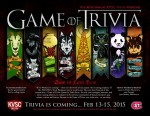 Poster: 2015 - Game of Trivia